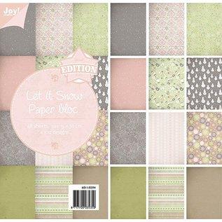 Joy!Crafts Papierblok - Let It Snow