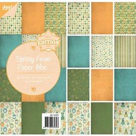 Joy!Crafts Papierblok - Spring Fever - 15x30cm