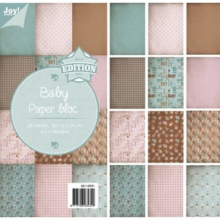 Joy!Crafts Papierblok - Baby
