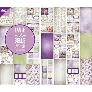 Joy!Crafts Papier- stansblok - Lavendel