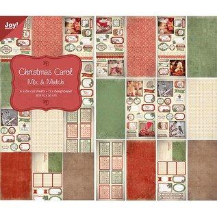 Joy!Crafts Papier- stansblok - Christmas Carol