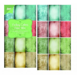 Joy!Crafts Papierblok Fading Colors