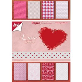 Joy!Crafts Papierblok A5 - Valentine