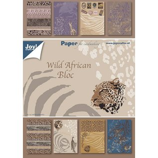 Joy!Crafts Papierblok A5 - Africa