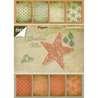 Joy!Crafts Papierblok A5 - Kerst