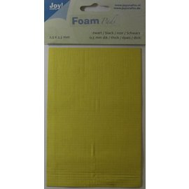 Joy!Crafts Foam Pads 0,5 mm/2,5mm.blok ZWART