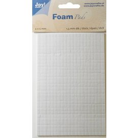 Joy!Crafts Foam Pads 1,5 mm/5mm blok WIT