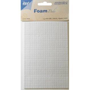 Joy!Crafts Foam Pads 1,5 mm/5mm blok WIT