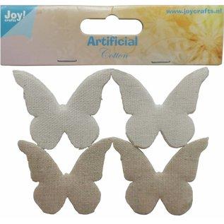 Joy!Crafts Katoenen vlinders groot