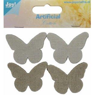 Joy!Crafts Katoenen vlinders klein