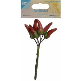 Joy!Crafts Artificial Flowers - Rode Pepers