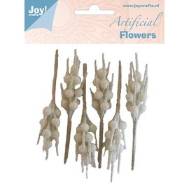 Joy!Crafts Artificial Flowers Deco wit-glitter