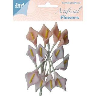 Joy!Crafts Artificial Flowers Aronskelk rose/zalm