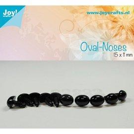 Joy!Crafts Ovale neus - Zwart (10st)
