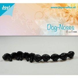 Joy!Crafts Honden neus - Zwart 15x11 mm