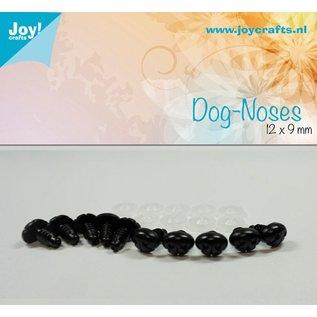 Joy!Crafts Honden neus - Zwart 12x9 mm