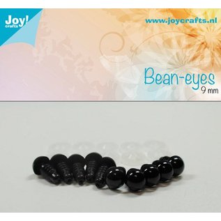 Joy!Crafts Dierenogen - Zwart 9 mm