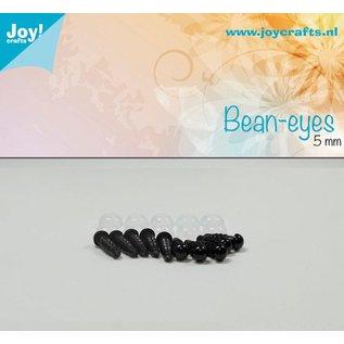 Joy!Crafts Dierenogen - Zwart 5 mm