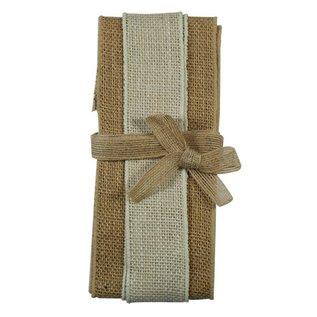 Joy!Crafts Jute Ribbon naturel-ivory-naturel