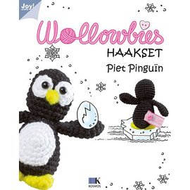 Joy!Crafts Wollowbies - Piet Pinguïn