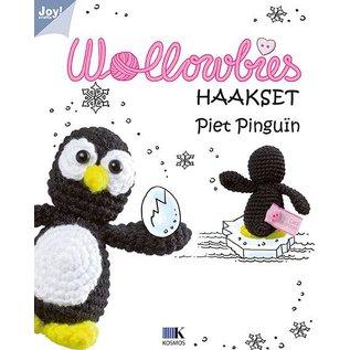 Joy!Crafts Wollowbies - Piet Pinguïn
