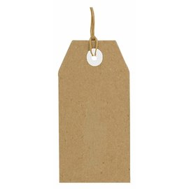 Joy!Crafts Kraft tags 94x47 mm