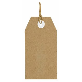 Joy!Crafts Kraft tags 112x56 mm