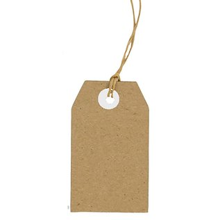 Joy!Crafts Kraft tags 30x50 mm