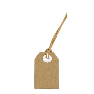 Joy!Crafts Kraft tags 20x30 mm