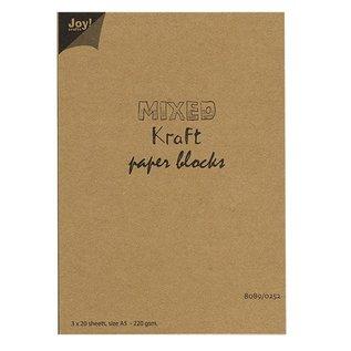 Joy!Crafts Mixed Kraft Paperbloc A5