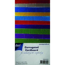 Joy!Crafts **Ribbelkarton metallic NML