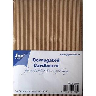 Joy!Crafts Ribbelkarton A4, 10 vel