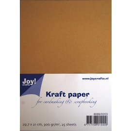 Joy!Crafts Kraft PapierA4 29,7 x 21 cm