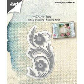 Joy!Crafts Snij-embos-debosstencil - Bloemenpret