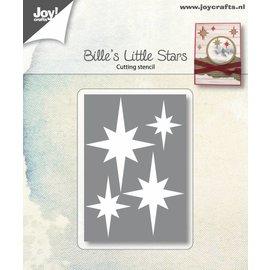 Snijstencils - Bille's kleine sterren