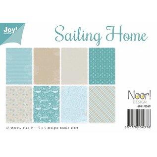 Papierset - Sailing Home