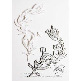Joy!Crafts Snij-embos-debosstencil - Elfenbloem