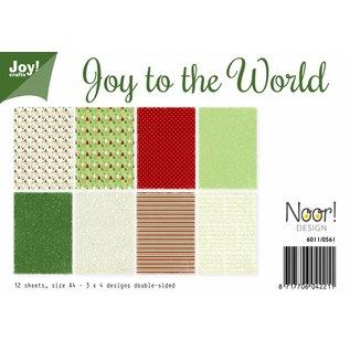 Joy!Crafts Papierset -  Joy to the World (kerst)