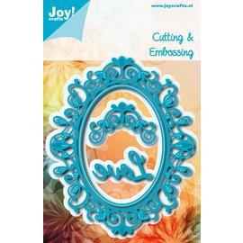 Joy!Crafts Snij-embosstencils - Noor! - Oval Sophia