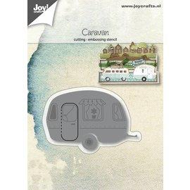 Joy!Crafts Snij-embosstencil - Caravan