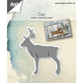 Snij-embosstencil - Hert