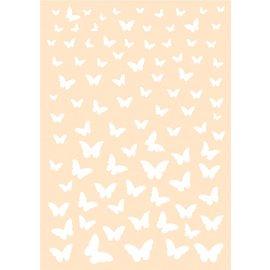 Joy!Crafts Polybesa Achtergrondstencil - Vrolijke Vlinders