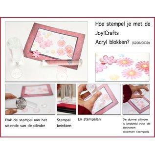 Joy!Crafts Acryl cilinder Stempelblokjes (2st)