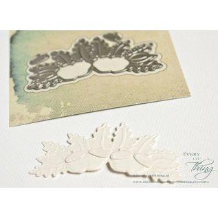 Joy!Crafts Snij-embos-debosstencil - eikels en bladeren