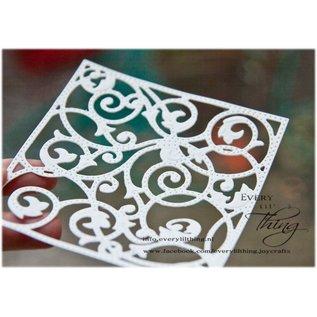 Joy!Crafts Snij- embos stencil - achtergrond met gaatjes