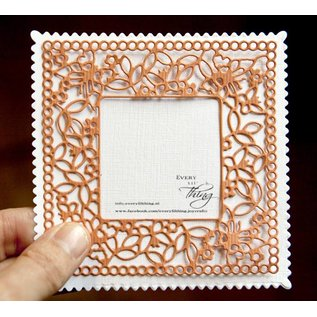 Joy!Crafts Snijstencil - Vierkant Vlinder met frame