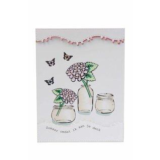 Stencils & Stamps - Mery's Hydrangeas