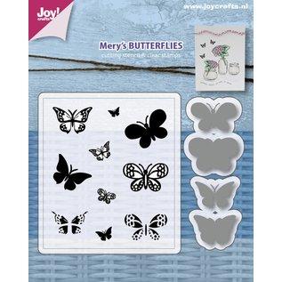 Joy!Crafts Stencils & Stamps - Mery's Butterflies