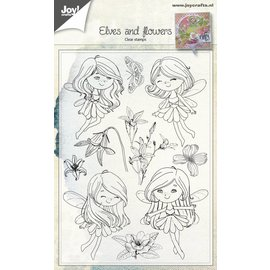 Joy!Crafts Clearstamp - Fairies & Flowers
