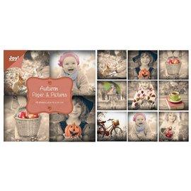 Joy!Crafts Papierblok Paper & Pictures-Autumn  10x10 cm